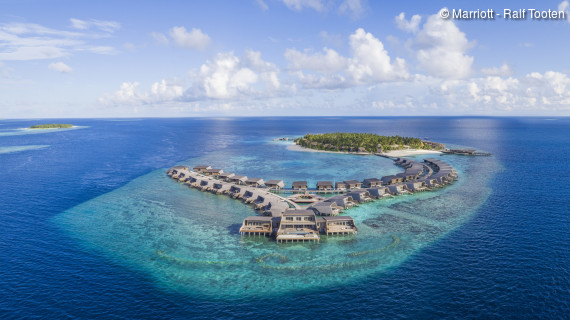 The St Regis Vommuli Island Maldives © Marriott - Ralf Tooten